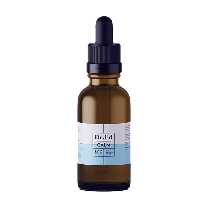 Dr Ed Calm 500mg CBD Oil 10ml