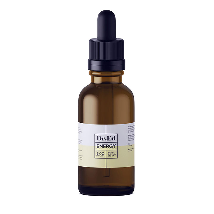 Dr Ed Energy 500mg CBD Oil 10ml