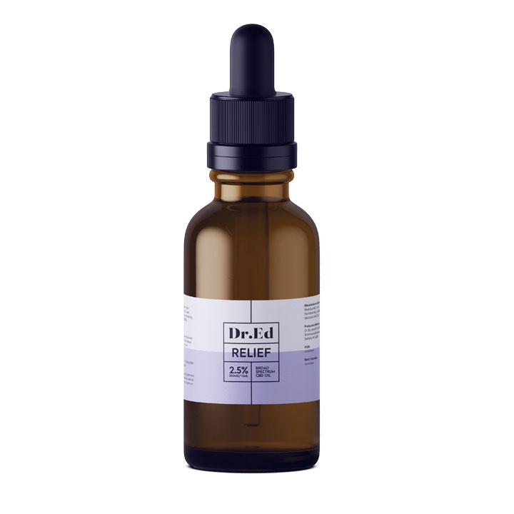 Dr Ed Relief 250mg CBD Oil 10ml