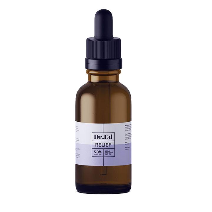Dr Ed Relief 500mg CBD Oil 10ml