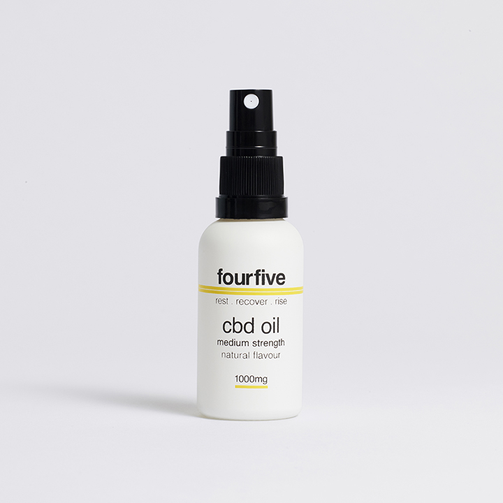 Fourfive 1000mg Natural Sports CBD Oil 30ml