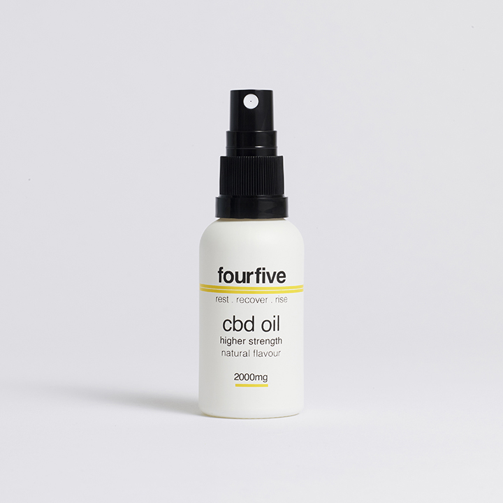 Fourfive 2000mg Natural Sports CBD Oil 30ml