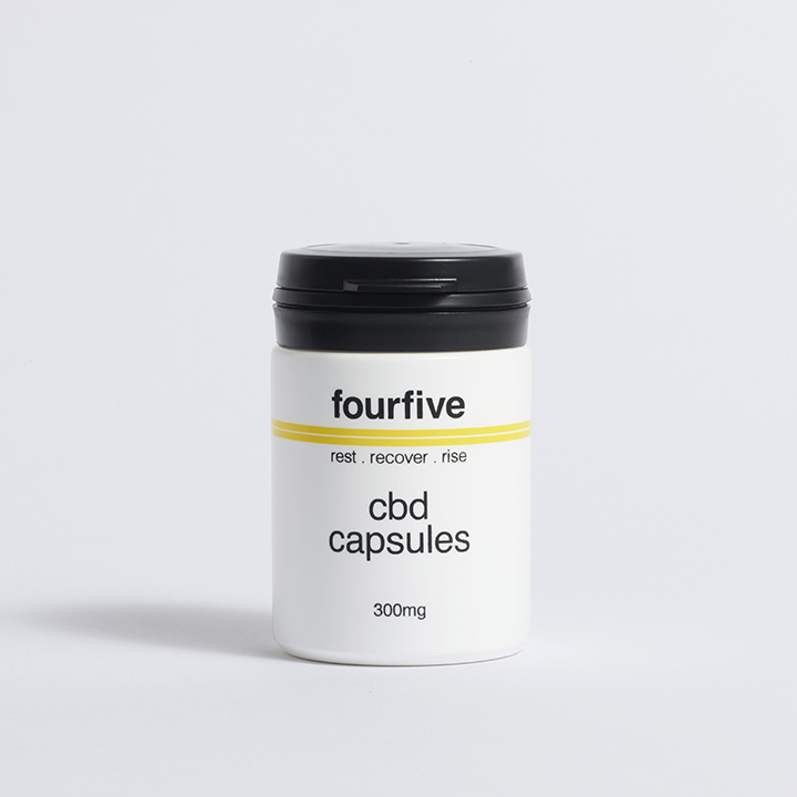 Fourfive 300mg Full Spectrum CBD Capsules