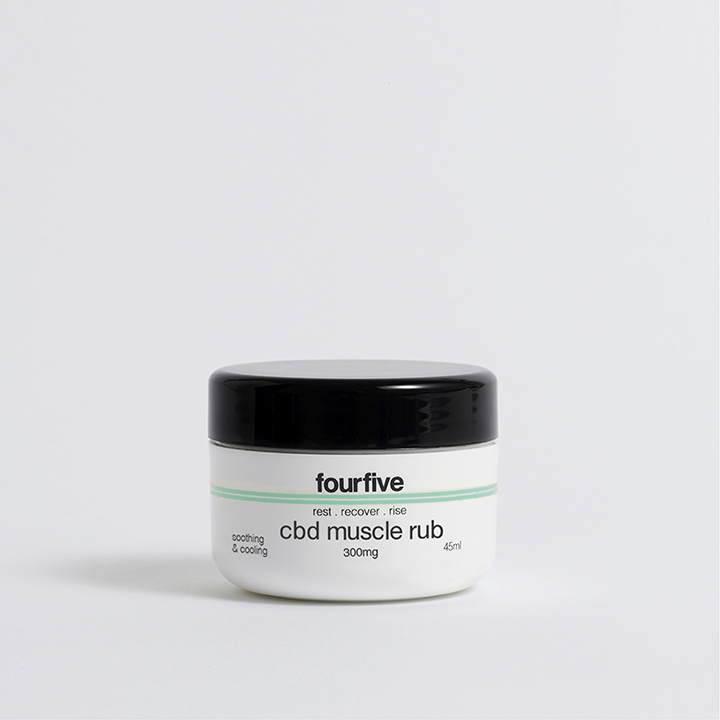 Fourfive 300mg CBD Muscle Rub 45ml