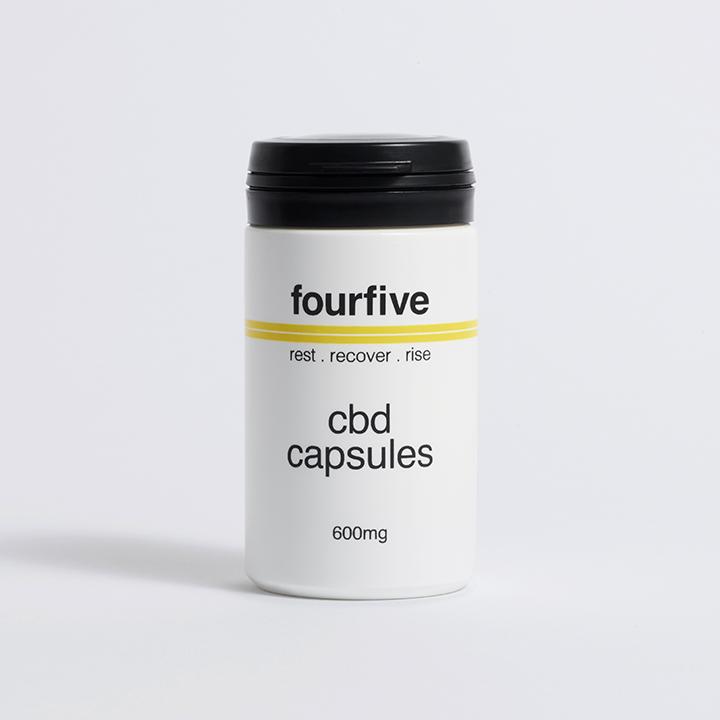 Fourfive 600mg Full Spectrum CBD Capsules