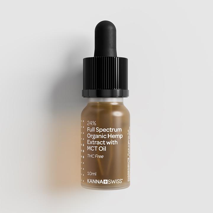 Kannaswiss Full Spectrum 24% Organic Hemp Extract Oil 10ml