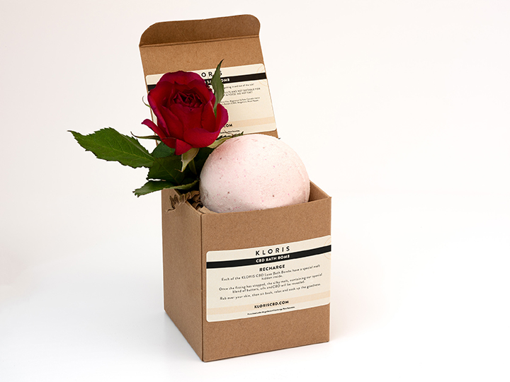 Kloris Recharge Luxury CBD Bath Bomb