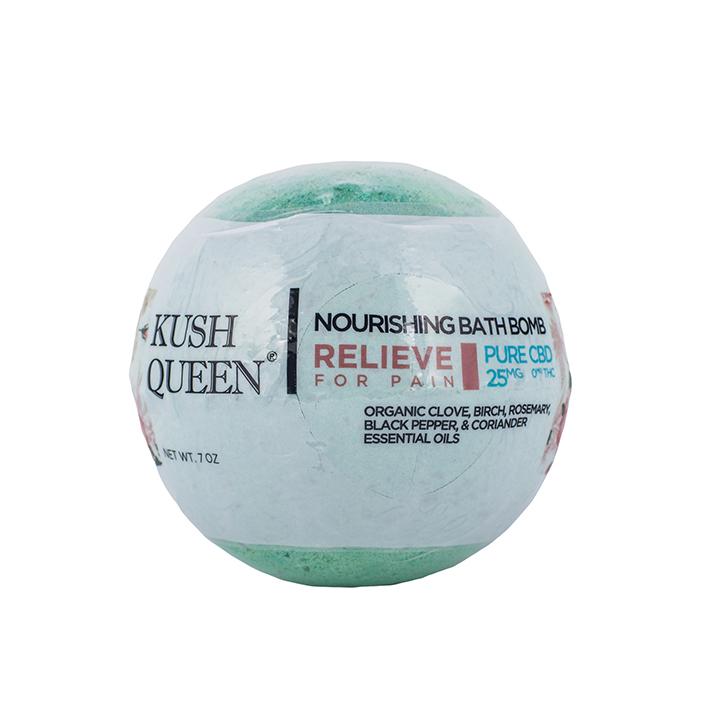 Kush Queen Relieve CBD Bath Bomb