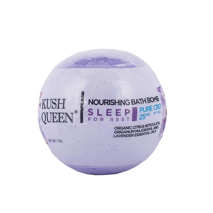 Kush Queen Sleep CBD Bath Bomb