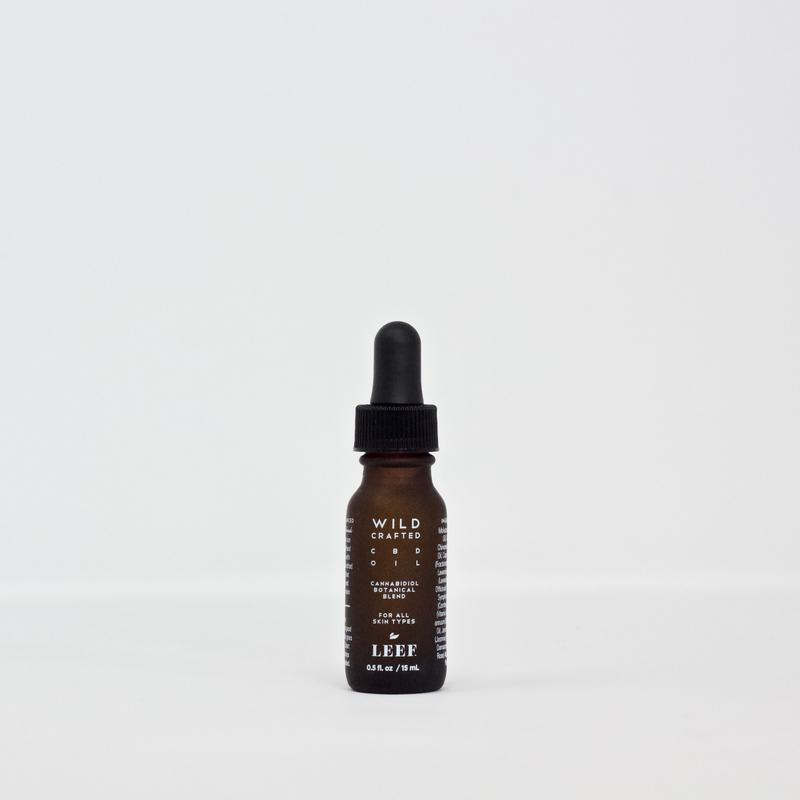 Leef Organics Wild Crafted CBD Facial Oil 15ml
