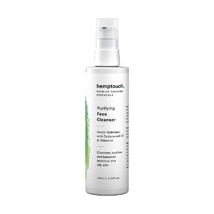 Hemptouch Purifying and Hydrating Face Cleanser 50ml